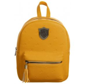 Harry Potter Hogwarts House Hufflepuff Mini Backpack Front View