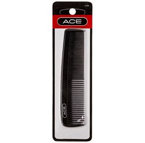 Goody Ace Hair Comb 5-Inch Fine Tooth Pocket Comb Front View