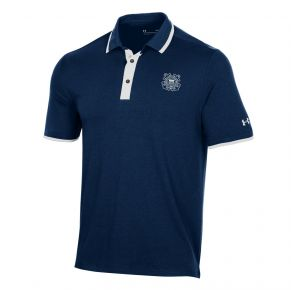 Coast Guard Under Armour Mens Game Day Short Sleeve Polo Shirt Front View