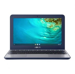 ASUS C202XA 11.6 Chromebook Blue Front View