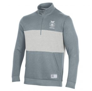 Coast Guard Academy Under Armour Mens Game Day Half Zip Sweatshirt Front View