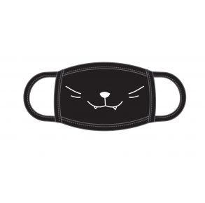 ADTN International Face Mask - Youth - Mini Kitty Front View