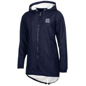 Coast Guard Champion Womens Ultimate Fan Stadium Jacket Front View
