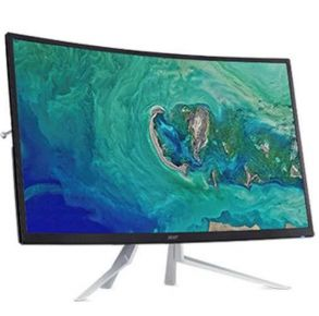 "Acer 32"" ET322QR ABMIIX Curved Monitor Profile View"