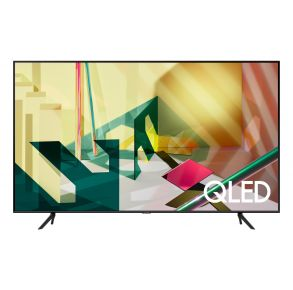 "Samsung 75"" Class Q70T QLED 4K UHD HDR Smart TV (2020) Front View"