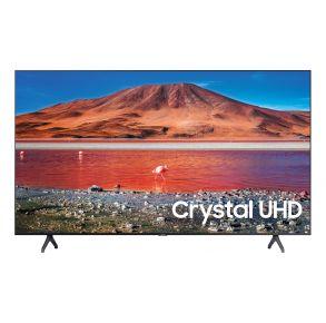 "Samsung 43"" Class TU7000 Crystal UHD 4K Smart TV (2020) Front View"