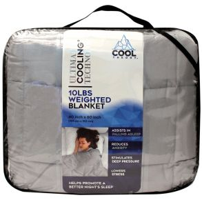 COOL THEORY Ultimate Cooling Technology 10 Lbs Weighted Blanket Package View