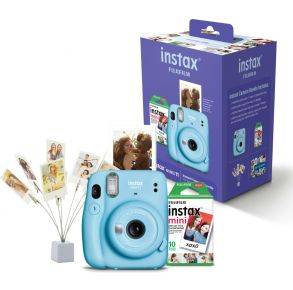 Fujifilm INSTAX Mini 11 Bundle - Sky Blue Bundle View
