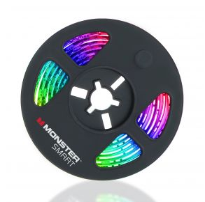 Monster Smart Illuminessence Multi Color & Multi White LED Light Strip Front View