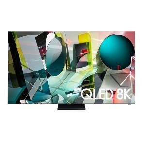 "Samsung 75"" Class Q900TS QLED 8K UHD HDR Smart TV (2020) Front View"