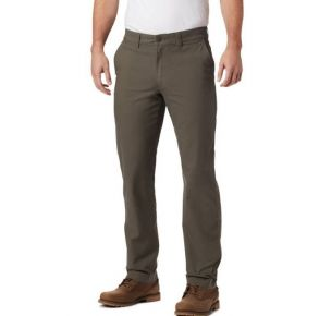Columbia Mens Flex ROC Pants Alpine Tundra Front View