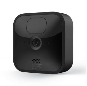 Blink Outdoor Wireless Weather-Resistant HD Security Camera – Add-on Camera, Black Front View