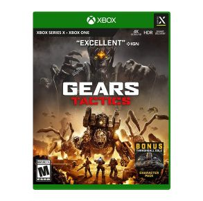 Microsoft Xbox Series X & Xbox One Gears Tactics Game Front View