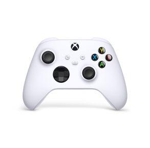 Microsoft Xbox Wireless Controller - Robot White Front View