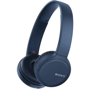 Sony WH-CH510 Wireless Headphones - Blue Profile View