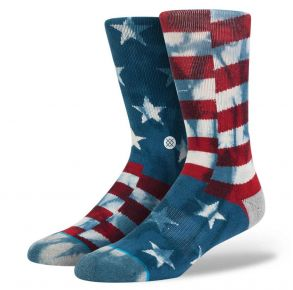 Stance Mens Crew Socks - The Banner Side View