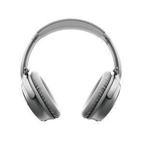 Bose QuietComfort 35 Wireless Headphones II - Silver Front View