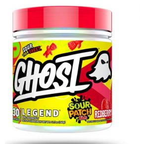 Ghost Legend x Sour Patch Kids Pre-Workout - Redberry Front View