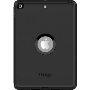 OtterBox iPad (8th gen) and iPad (7th gen) Defender Series Case - Black Back View