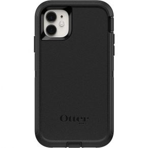 OtterBox iPhone 11 Defender Series Screenless Edition Case - Black Back View
