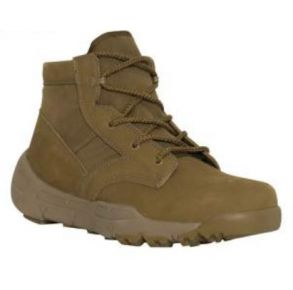 "Rothco Mens 6"" V-Max Lightweight Tactical Boot - AR 670-1 Coyote Brown Left Side View"