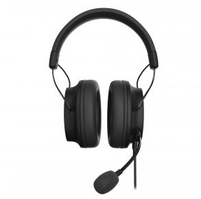 212 Kinetic Wired Gaming Headset - Black Front View