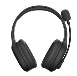 212 Kinetic Wireless Gaming Headset - Black Front View