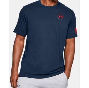 Under Armour Mens UA Freedom Flag T-Shirt Front View