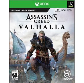 Microsoft Xbox Assassin's Creed Valhalla Game Front View