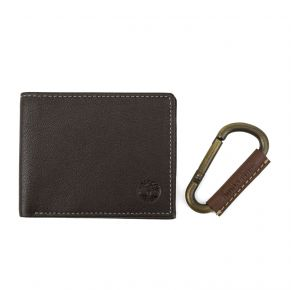 Timberland Wallet with Carabiner Set View