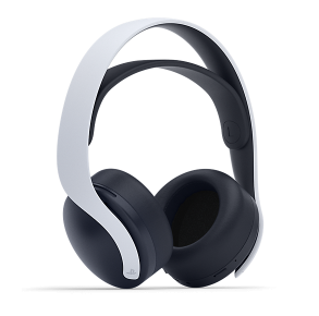 Sony PlayStation PULSE 3D Wireless Headset - White/Black Front View