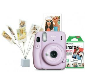 Fujifilm INSTAX Mini 11 Bundle - Lilac Purple Profile View