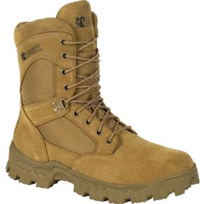 Rocky Mens Alpha Force 8 Inch Duty Boot Right Side View