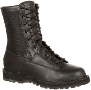 Rocky Mens Portland Lace-to-Toe Waterproof Public Service Boots Right View