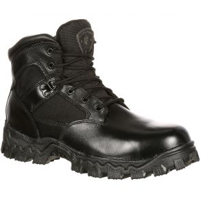 Rocky Mens Alpha Force Composite Toe Waterproof Public Service Boot Right View