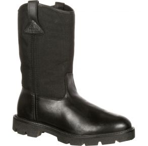 Rocky Mens Warden Pull-On Wellington Public Service Boot Right View