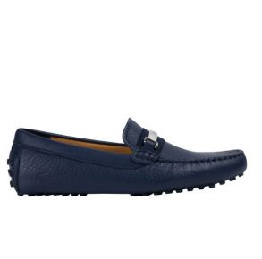 Lacoste Mens Ansted Leather Drivers Side View