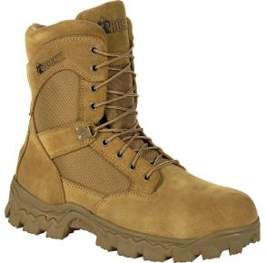 Rocky Mens Alpha Force Composite Toe Duty Boot Right Side View