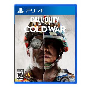 Sony PlayStation 4 Call of Duty: Black Ops Cold War Game Front View