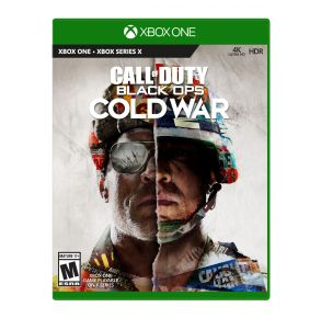 Microsoft Xbox One Call of Duty: Black Ops Cold War Game Front View