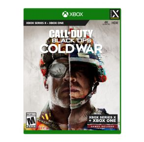 Microsoft Xbox Series X Call of Duty: Black Ops Cold War Game Front View