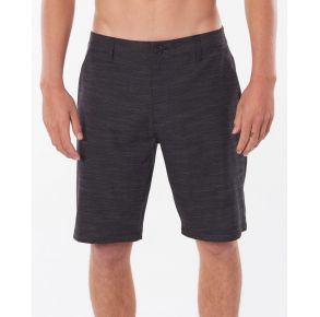 "Rip Curl Mens Mirage Jackson 20"" Boardwalk Shorts - Black Front View"