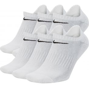 Nike Mens Everyday Cushion Training No Show Socks - 6 Pack Front View