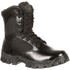Rocky Mens Alpha Force Waterproof Public Service Boot Right View