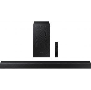 Samsung HW-T450 2.1ch Soundbar with Dolby Audio (2020) Front View