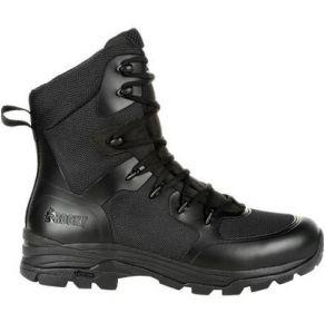 """Rocky Mens Code Blue 8"""" Public Service Boot Right View"""