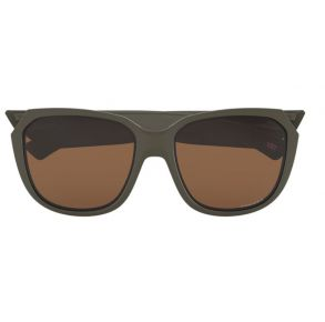 Oakley Womens Matte Olive Rev Up Non-Polarized Sunglasses Front View