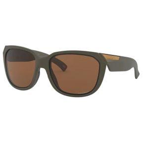 Oakley Womens Matte Olive Rev Up Non-Polarized Sunglasses Right Side View