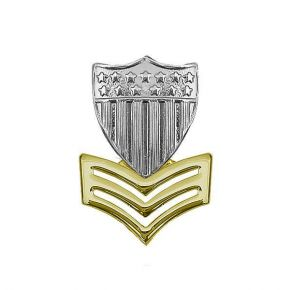 Cap Device:  Petty Officer 1st Class E-6 Garrison