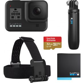 GoPro HERO8 Black Bundle Front View